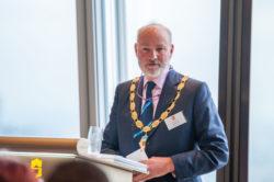 Simon Barkes, EDA President