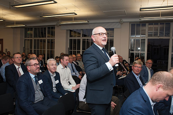 Delegates getting their ETIM questions answered at the first ETIM Digitalisation Forum in December 2019